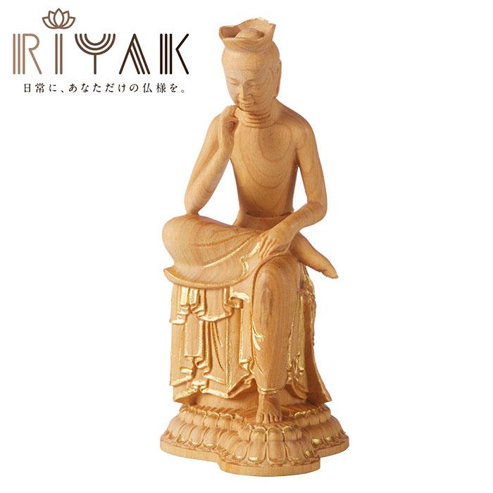 仏様と日常を共にするための木製仏像ブランド RIYAK® BASIC 弥勒菩薩 ...