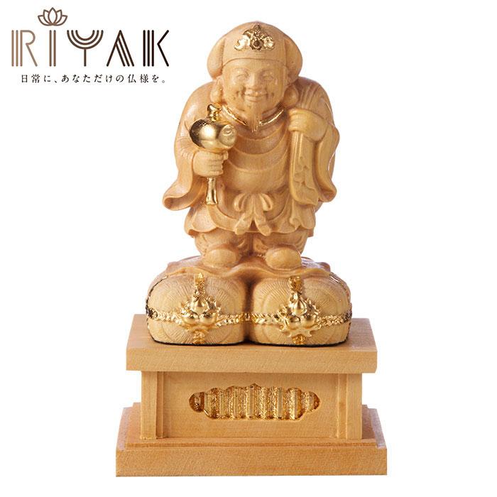 仏様と日常を共にするための木製仏像ブランド RIYAK® BASIC 大黒天 ...