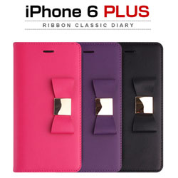 LAYBLOCK Ribbon Classic Diary for iPhone 6 Plus