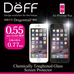 旭硝子製Dragontrail使用 Deff Chemically Toughened Glass Screen Protector for iPhone 6 Plus
