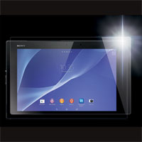 厚さ0.2mmの超薄型液晶保護ガラス High Grade Glass Screen Protector for Xperia Z2 Tablet