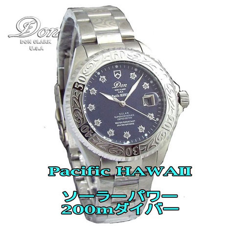 【85%OFF】Pacific HAWAII Solar Divers-200m