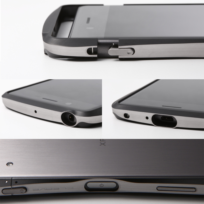 1d40afc640 ... 【Xperia X Performance】工具不要で取付OK 指紋認証にも対応した2色アルミバンパー Deff Aluminum  Bumper CLEAVE LIMITED. search 大きい画像を見る