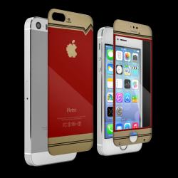 レトロゲーム機風デザイン iRetro-FC tempered glass colors limited Edition for iPhone 5s/ 5