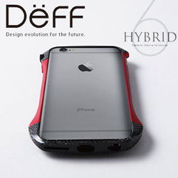 【iPhone 6s対応】 CLEAVE Hybrid Bumper for iPhone 6