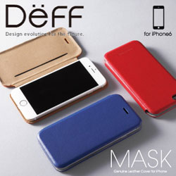 【iPhone 6s対応】 GENUINE LEATHER COVER MASK for iPhone 6