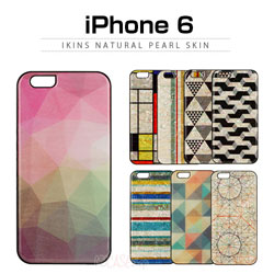 【iPhone6s対応】ikins(アイキンス)天然貝ケース for iPhone 6